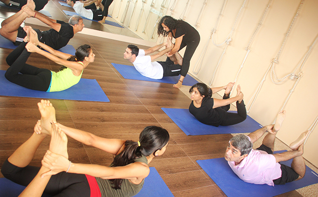 The Yoga House: yoga classes in mumbai