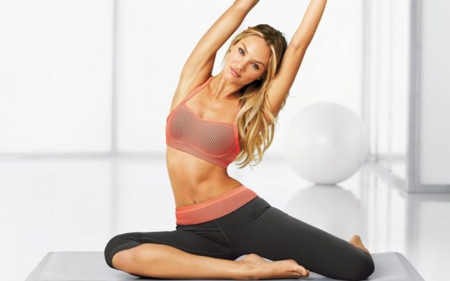 Candice Swanepoel Workout secrets