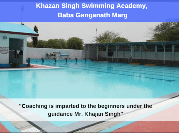 khazan singh swimming academy: swimming pool in delhi