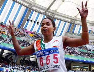 indian record holder sarswati saha