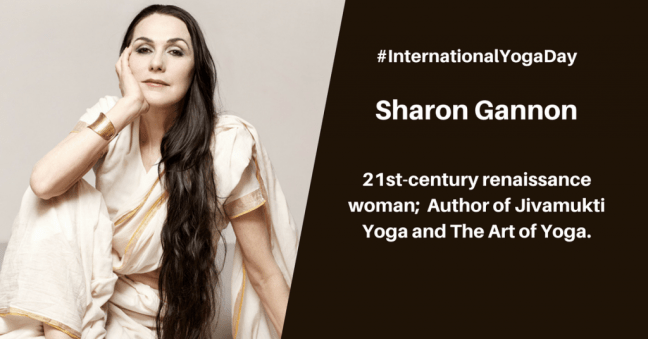 Sharon Gannon - best female yoga instructor