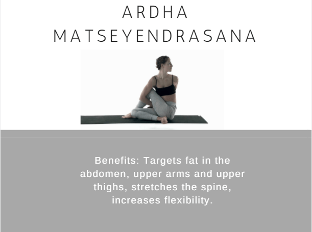 Ardhamatseyendrasana- Ramdev baba yoga for weight loss