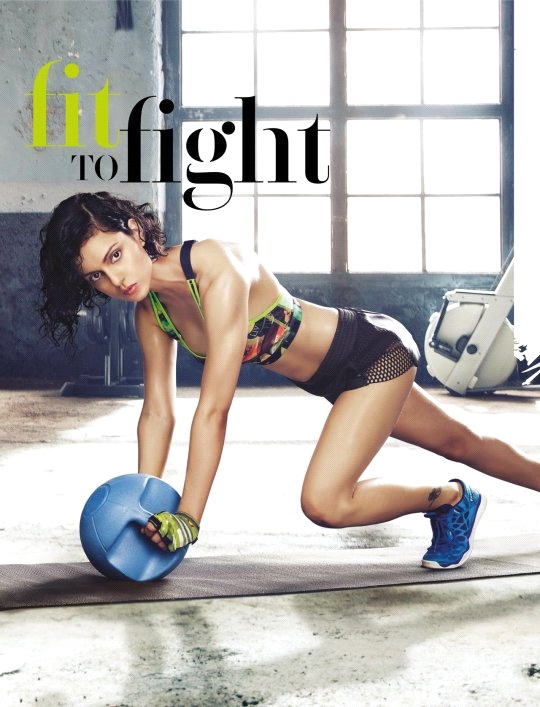 kangana : celebrity workout