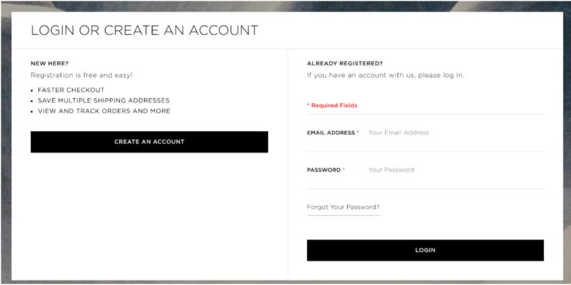 customer accounts