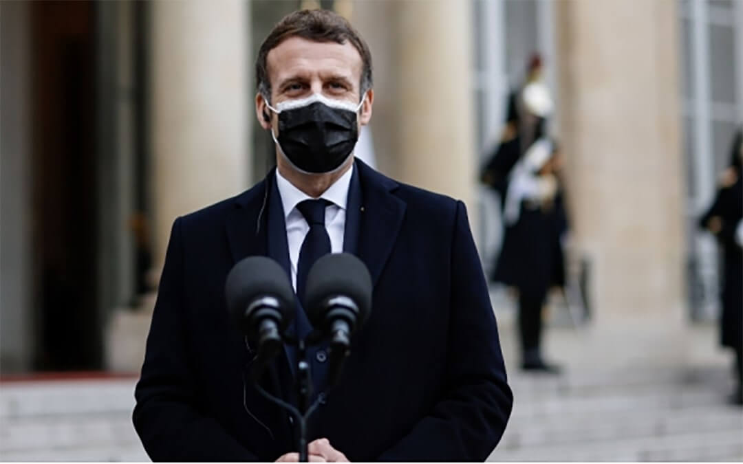 Remark about French President Emmanuel Macron's Testing Positive for COVID-19 and Consequences Afterwards