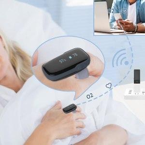 Oxylink remote oxygen monitor
