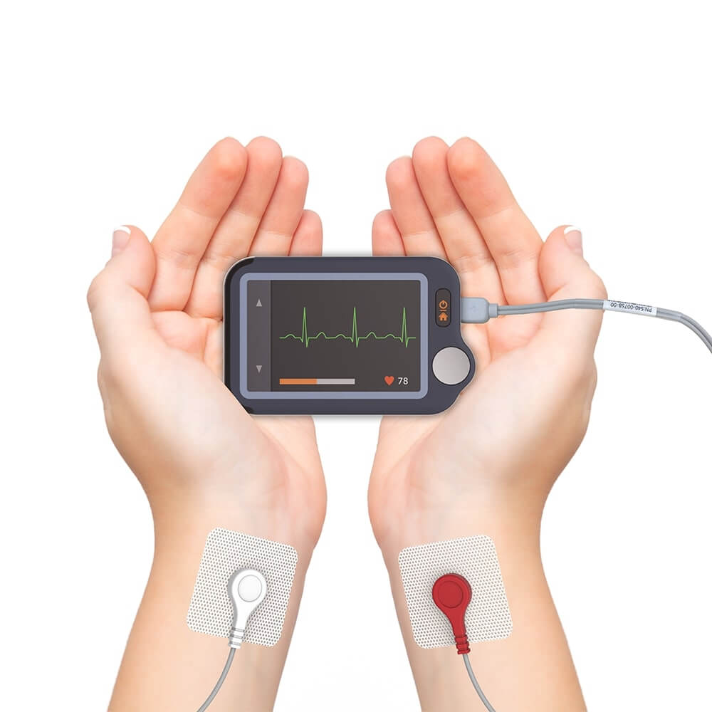 Wellue portable EKG monitor with touch screen--4