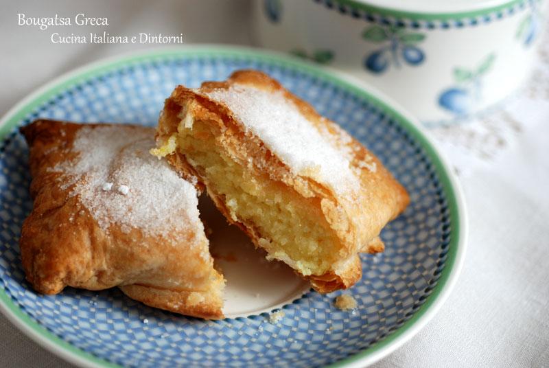 Bougatsa dolce tipico greco