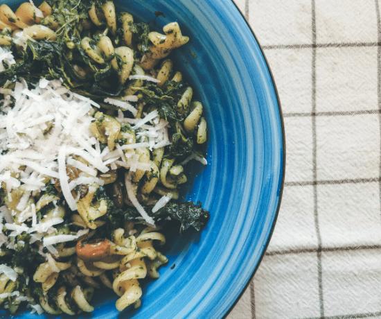 pasta cime di rapa olive pecorino