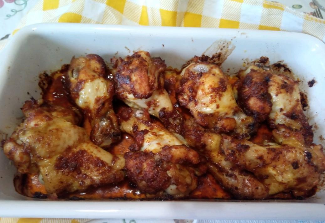 Alette di pollo speziate al forno