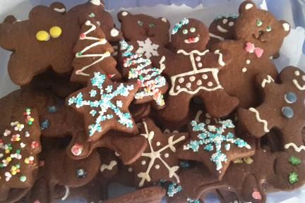 Gingerbread biscotti allo zenzero