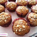 Muffin di fichi e cioccolato bianco