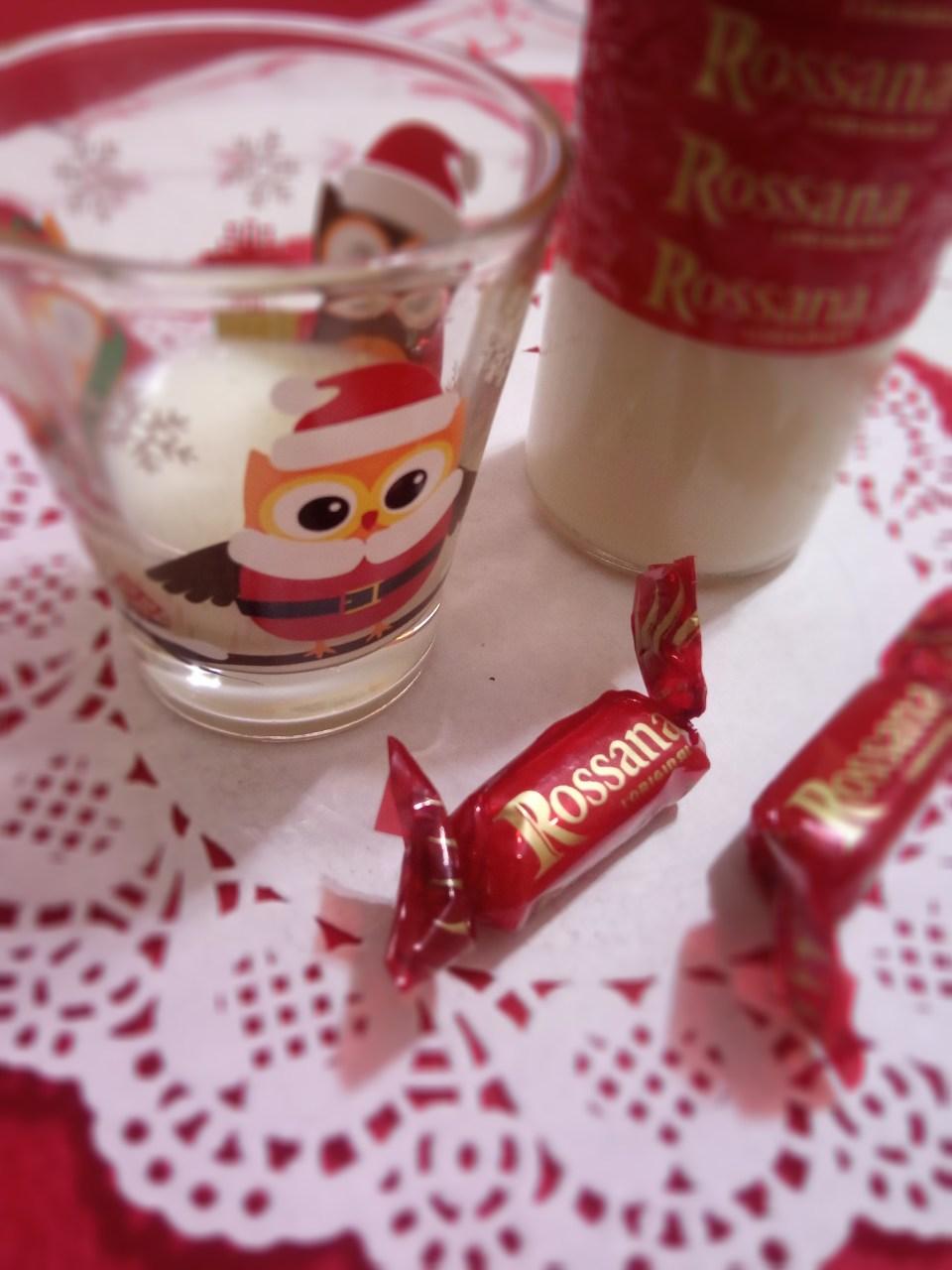 Liquore con caramelle Rossana