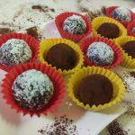 Tartufini al cioccolato con riciclo