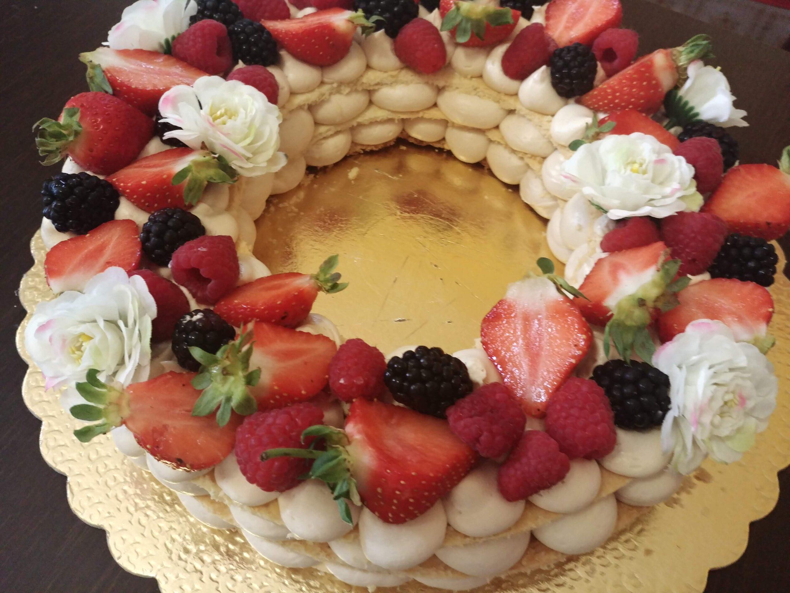 Ricetta cream tart sfogliata