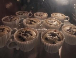 Muffin con latte di mandorla