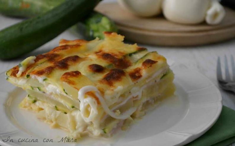La Prova Del Cuoco Ricetta Parmigiana Di Zucchine Bianca