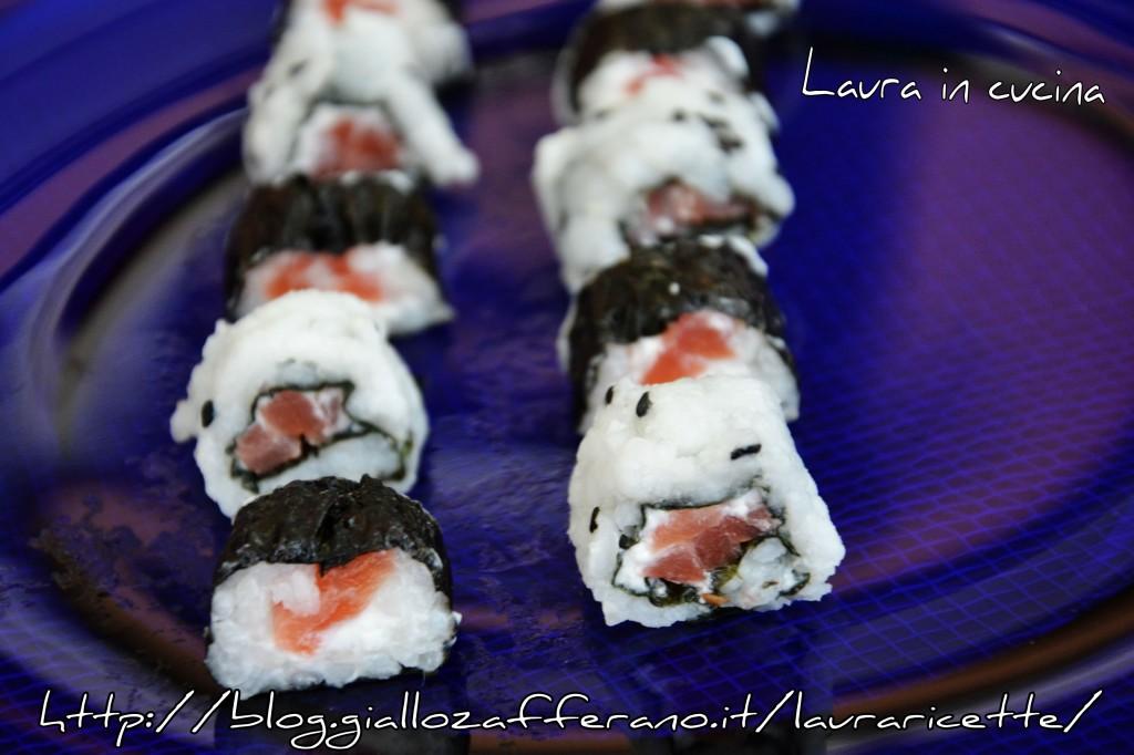 I miei sushi Arnaboldi  Laura in cucina