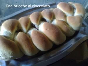 Pan brioche al cioccolato 4