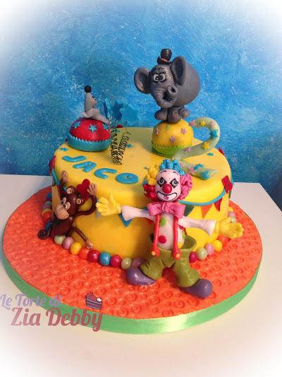 Torta circo  Le Torte di Zia Debby