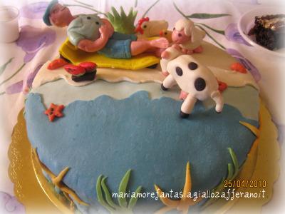 Torta pensione  torta decorata pensionamento