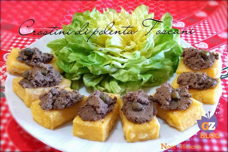Risultati immagini per immagine crostini di polenta con patè di fegatini