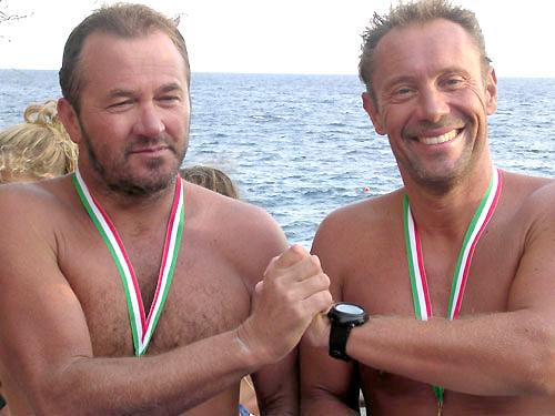 Pierluigi e Lionel, i messaggeri del mare