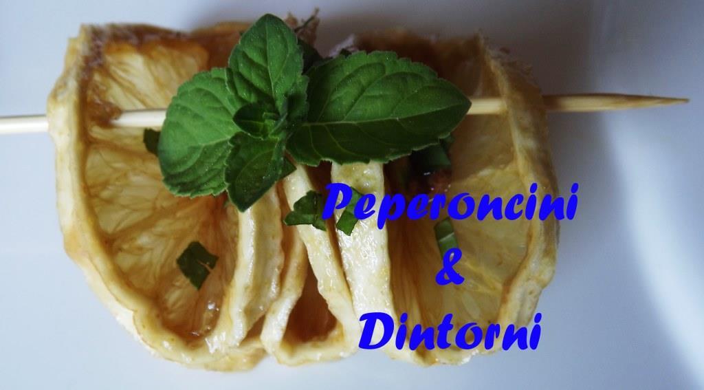 Fagottini di Limone Pistacchi e Scalogno Candito