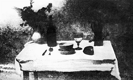 la prima foto di food 21 giugno 1827