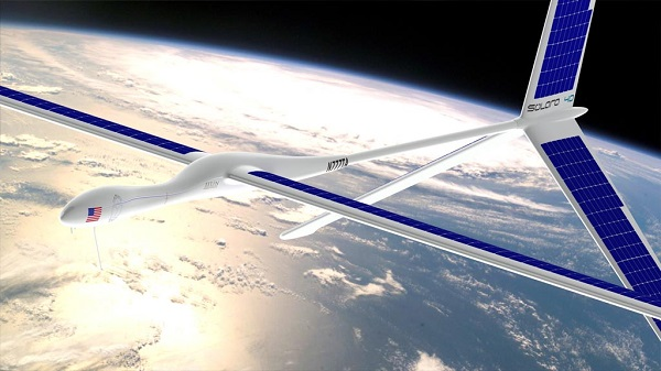 titan solara 60 Capace di mantenere centinaia di canali radio e internet per 5 anni.