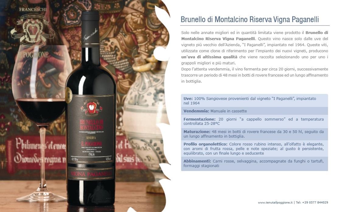 Brunello di Montalcino in Top Ten Wine Spectator