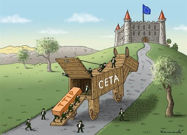 Gli inganni nascosti dentro l'accordo Ceta