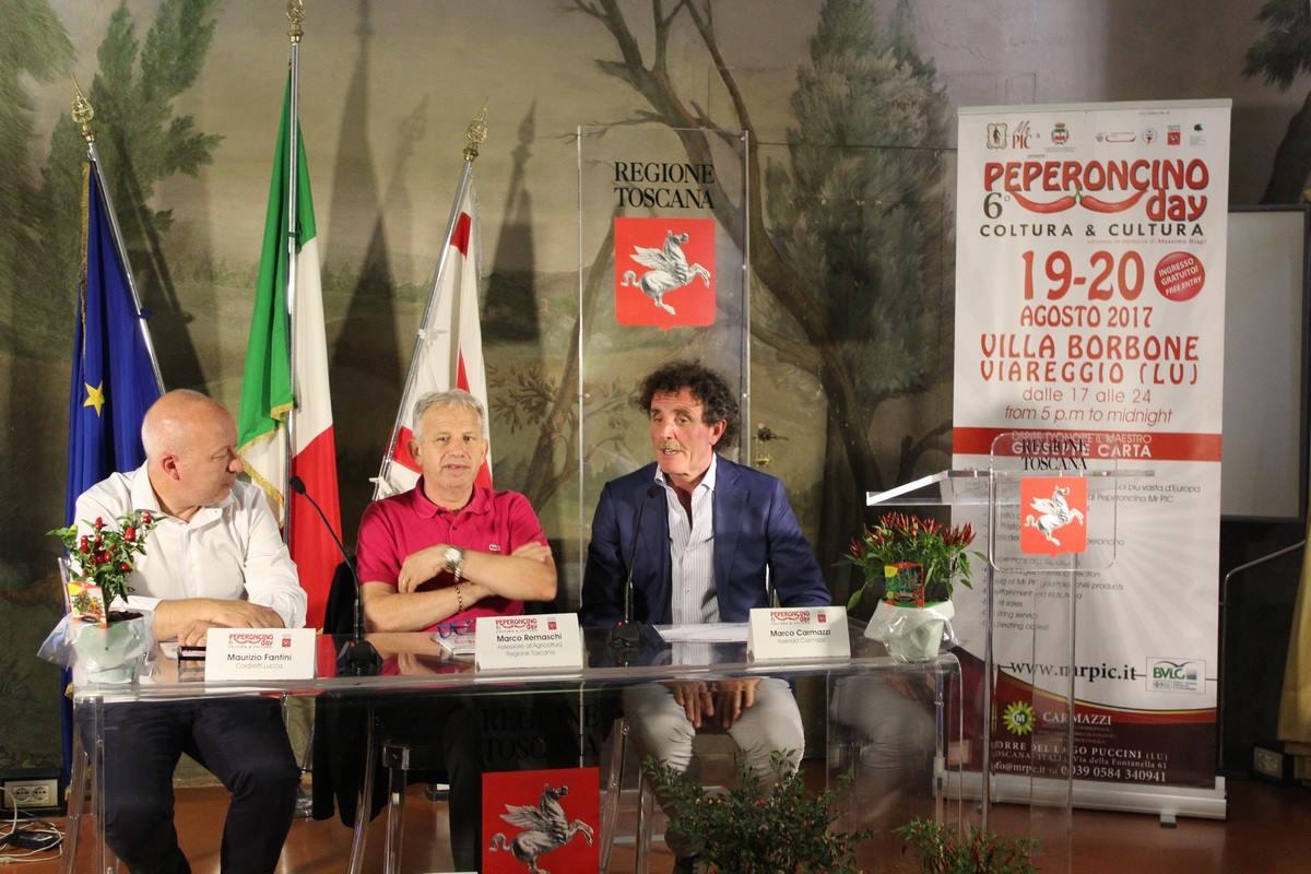 Presentato presso la Regione Toscana il Peperoncino Day 2017