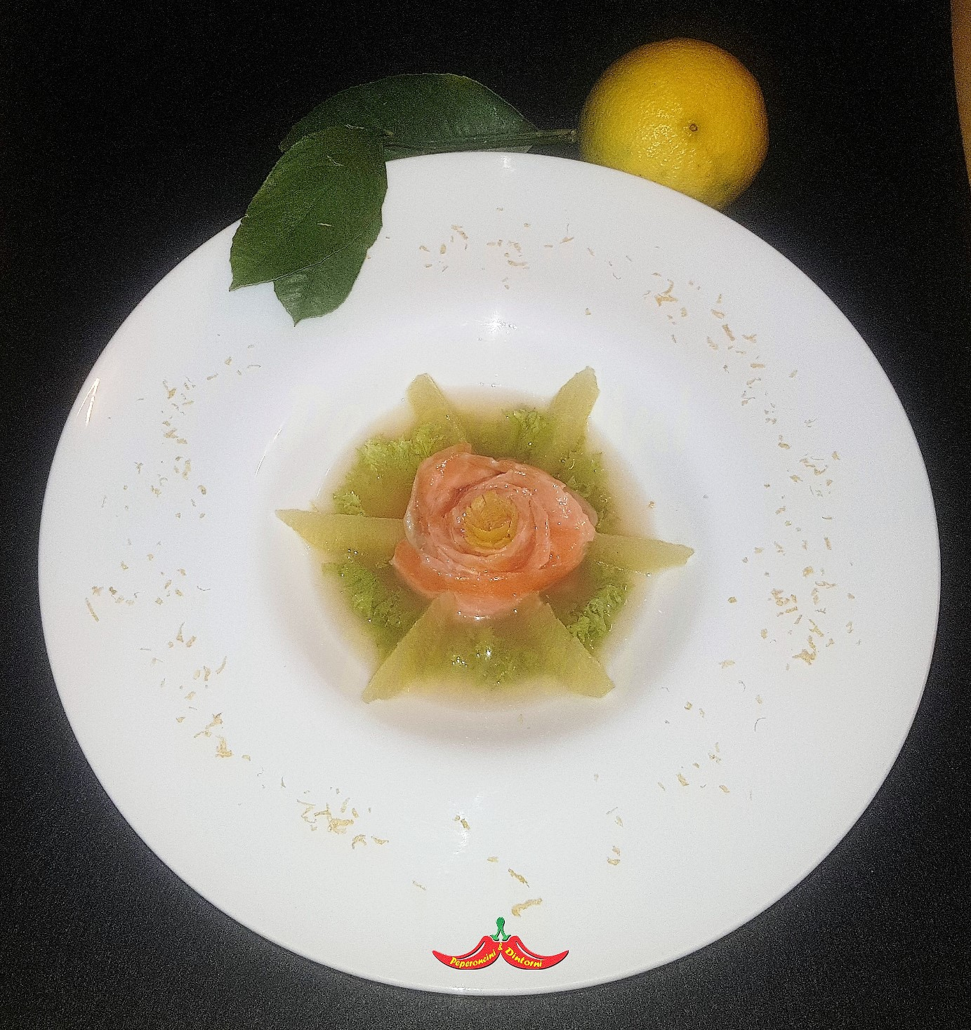 Fiore di Salmone al Bergamotto