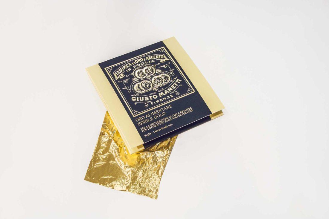 foglia d'oro alimentare battiloro