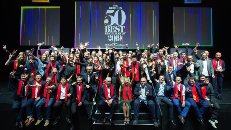Il ristorante Mirazur di Mauro Colagreco si è guadagnato il 1° posto sul podio dei The World's 50 Best Restaurants 2019