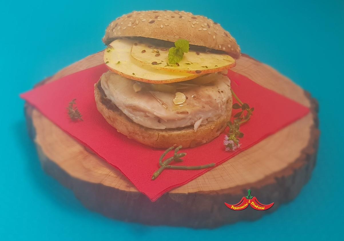 L'hamburger perfetto, Muggine, pesto di Salicornia e peperoncini di 7 anni