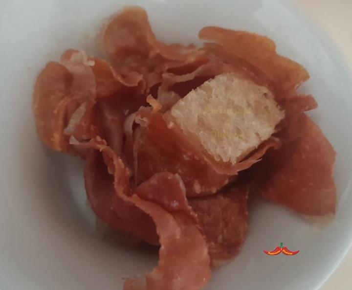 Rosa di bresaola croccante