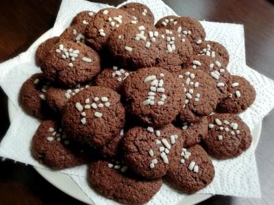 Biscotti veloci al cacao