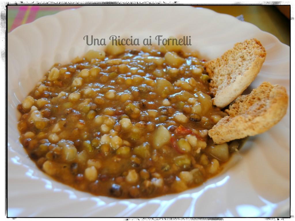 Zuppa Di Legumi E Cereali Ricetta Autunnale