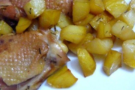 coscette di pollo con patate