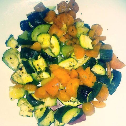 Verdure al vapore (cottura al microonde)