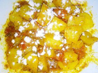 (Farina su) patate alla curcuma