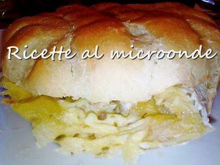 Muffuletta siciliana con frittata di patate (dettaglio)
