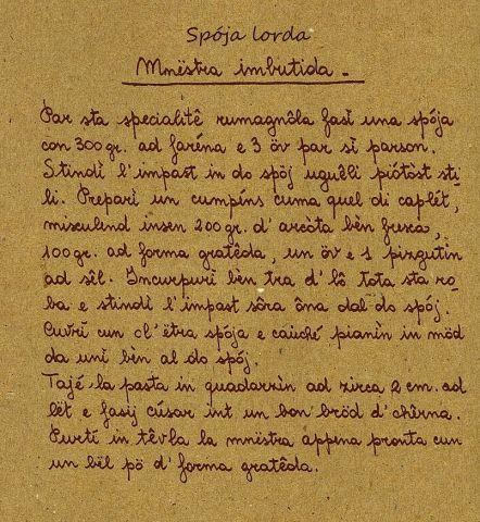 Minestra imbottita o spoja lorda ricetta tradizionale romagnola