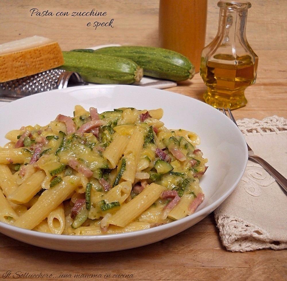Pasta Al Forno Con Zucchine E Salsiccia Ricette Che Passione