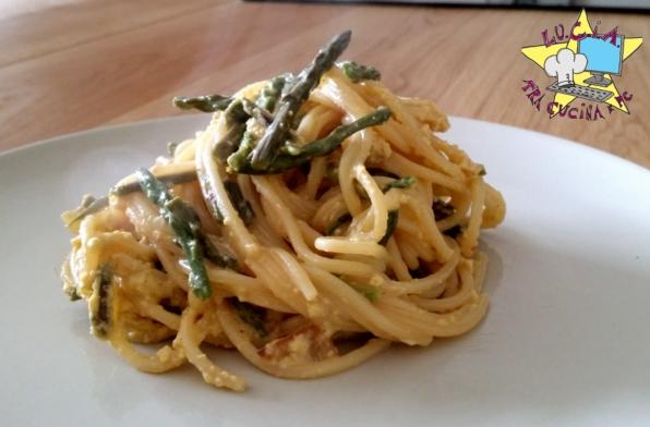 vermicelli con asparagi selvatici