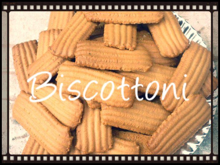 Biscottoni  Una cucina da single