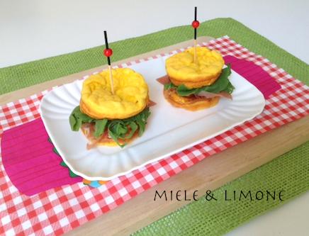 mini-Sandwich di frittatine – ricetta facile
