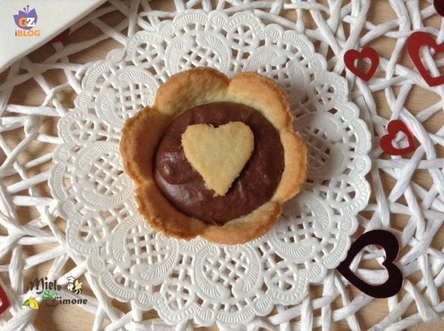 Cestini di pasta frolla con Nutella – ricetta golosa